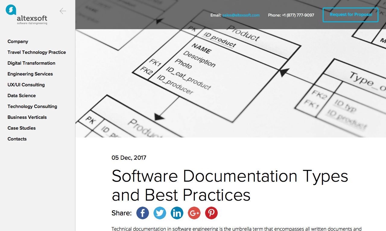 Software Documentation Types And Best Practices Altexsoft DocToolHub - Software documentation