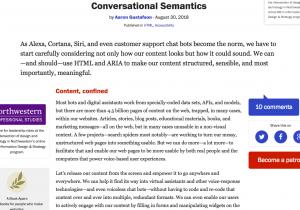 Conversational semantics