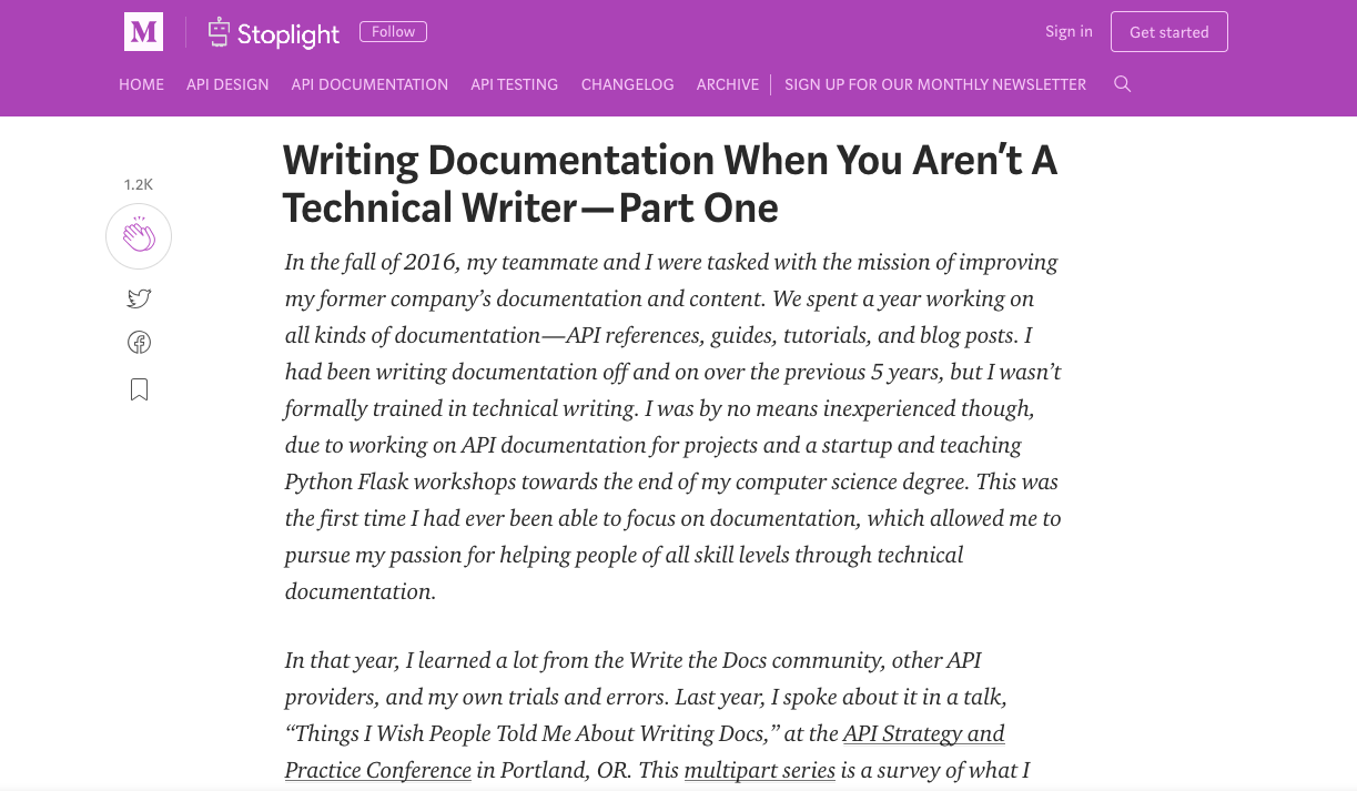 Writing Documentation When You Aren't A Technical Writer